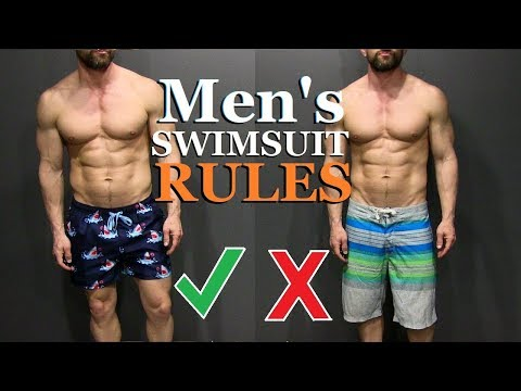 6 Swimsuit Rules ALL Men Should Follow!