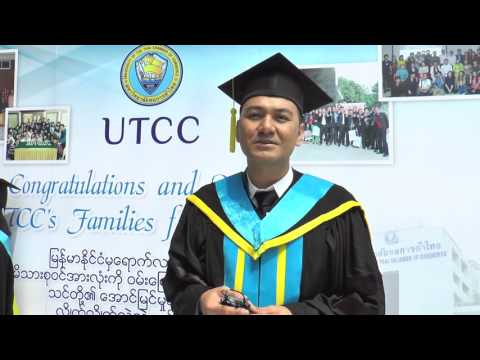 "UTCC GLOBAL MBA , YANGON & MANDALAY, MYANMAR ""GRADUATION DAY"""