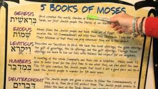 Salomon Says: The Torah and the 5 Books of Moses