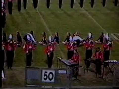 "1996 Gadsden High School ""Tiger Band"" - Mid-South exhibition performance"