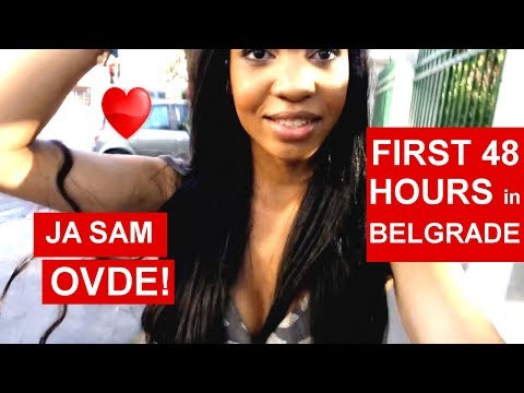 American Girl in Serbia E1: First Weekend in Belgrade!