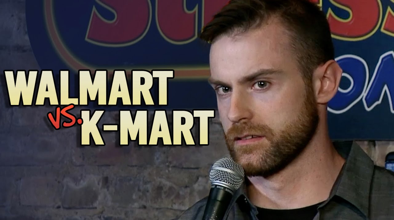 Walmart vs K-Mart   Matt McClowry Stand up