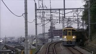 西武鉄道:西武池袋線 新2000系 元加治~所沢 前面展望 2017.11.14