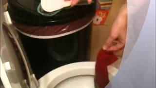 HOW to use a diaper sprayer