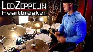 Led Zeppelin - Heartbreaker Drum Cover (High Quality Audio) ⚫⚫⚫