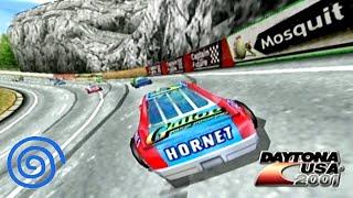 Daytona USA 2001 playthrough Dreamcast