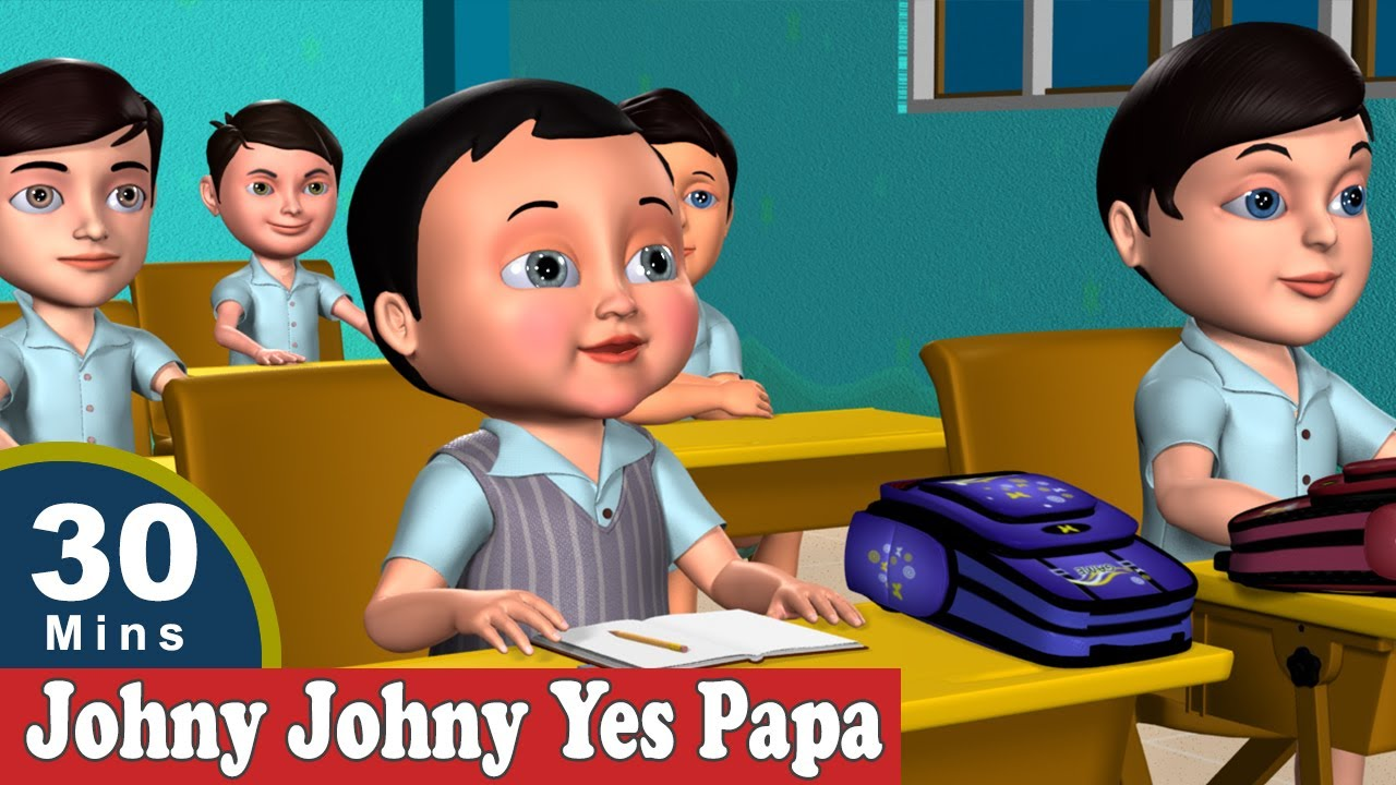 Download Johny Johny Yes Papa Nursery Rhymes - The Best 3D Animation Rhymes & Songs for Children