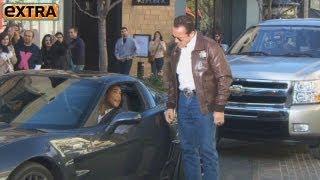 Arnold Schwarzenegger Pulls Over Mario Lopez