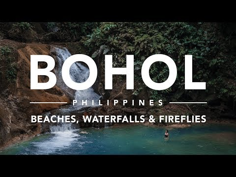 How is this Waterfall Real? | BOHOL ISLAND, PHILIPPINES