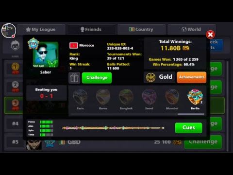 ROAD TO 500M COINS 8 BALL POOL