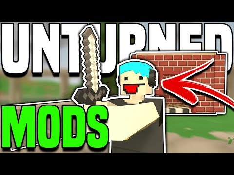 MINECRAFT!? - GTA Clothes And MORE!! (Unturned Mods Showcase)