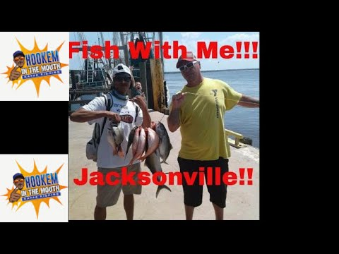 JACKSONVILLE, OFFSHORE Fishing, Majesty PARTY Boat!! HOOKEM IN THE MOUTH !!!