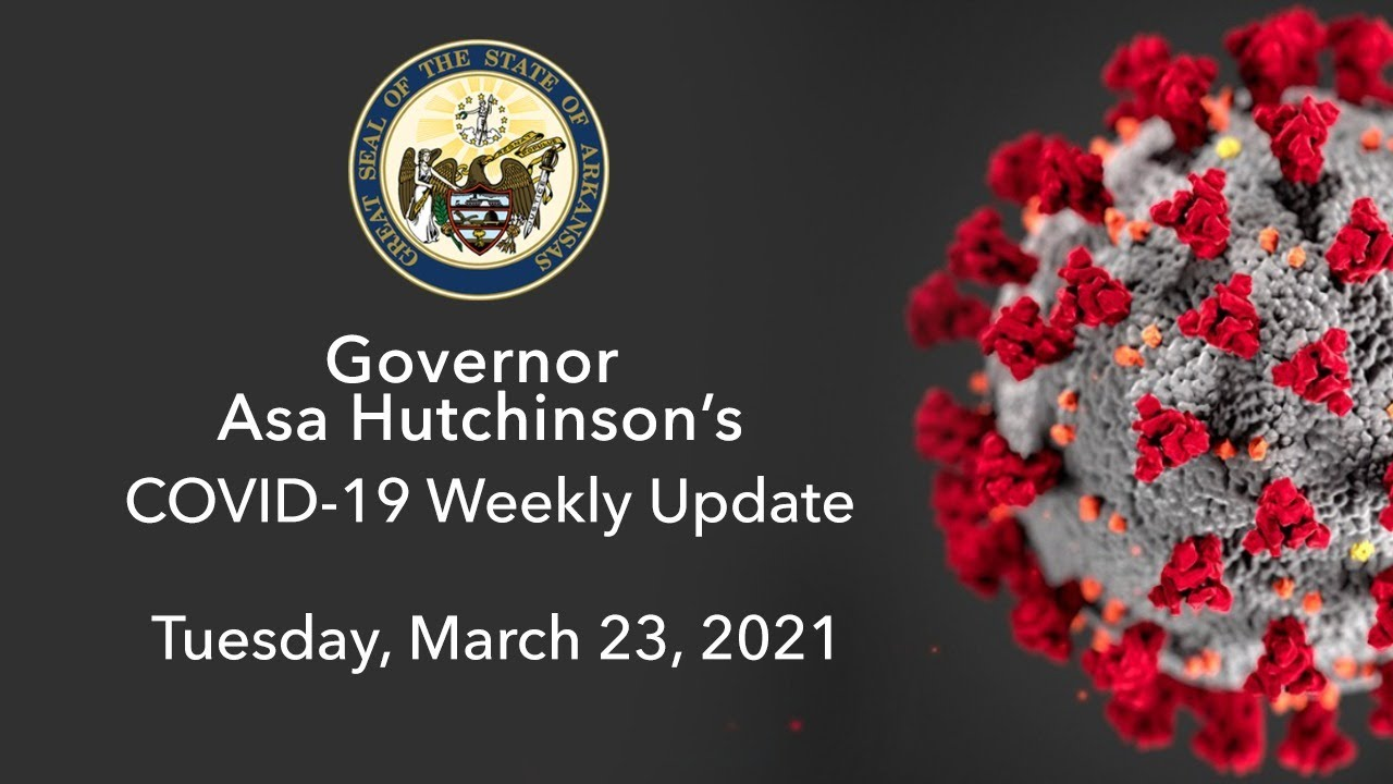 Governor opens COVID-19 vaccine to all adults in Arkansas, mask ...