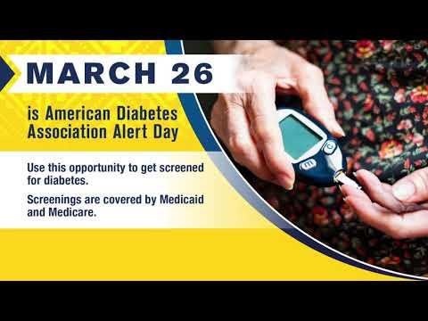 March 26 Is American Diabetes Association Alert Day - Zuni