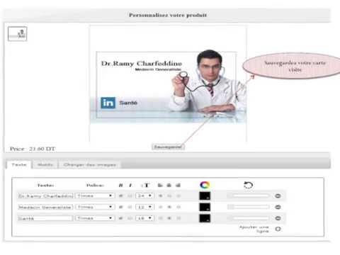 Cartes De Visite Personnalisee Chez PrintPlus Imprimerie Tunisie