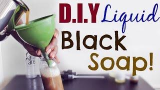 D.I.Y NATURAL HAIR SHAMPOO | Liquid Black Soap