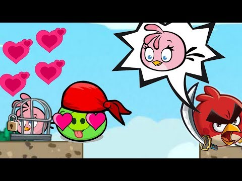 Angry Birds Heroic Rescue - RESCUE STELLA BY BEATING BAD PIGGIES