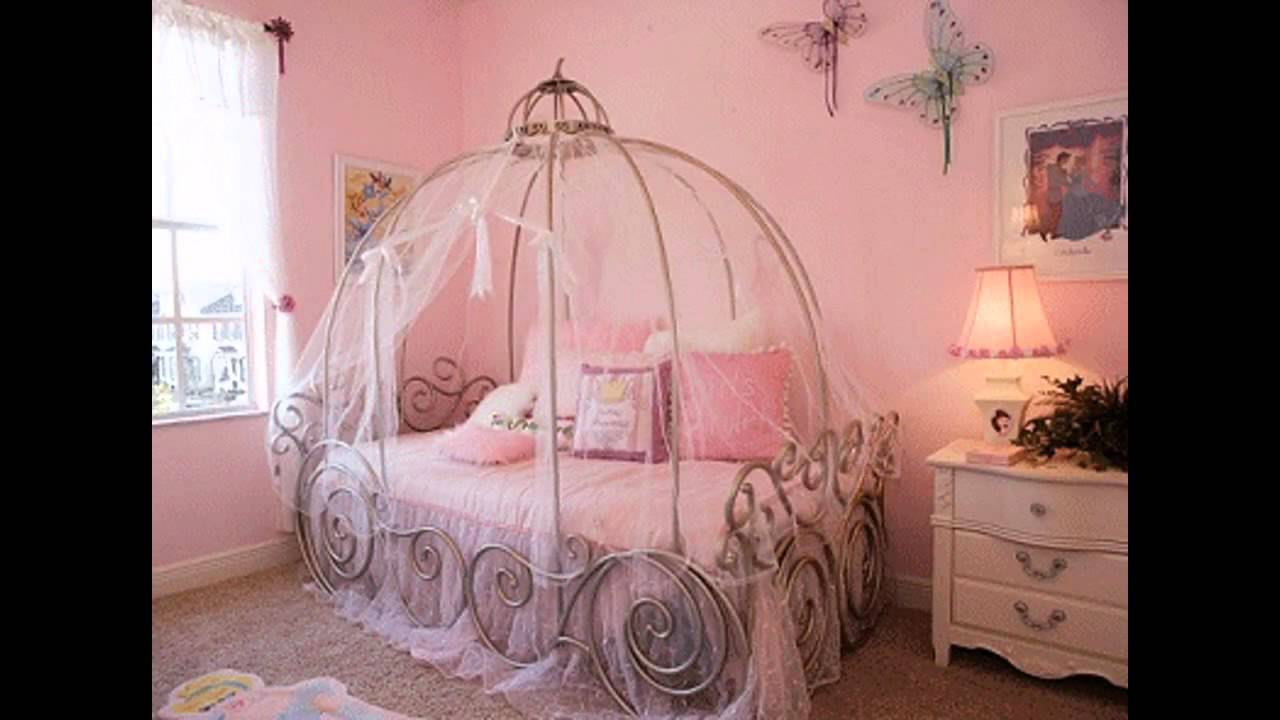 Beautiful disney princess room decorating ideas - YouTube