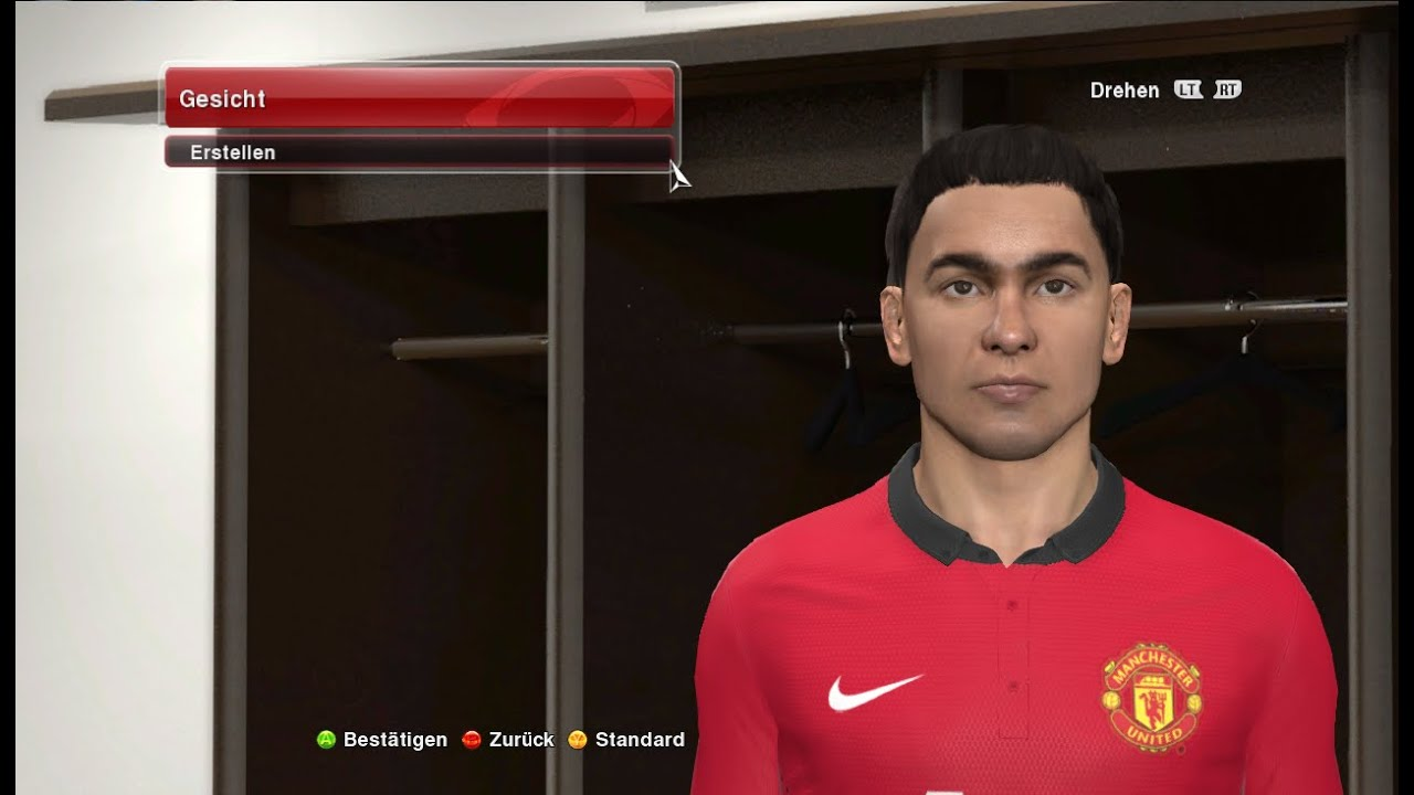 Andreas Pereira (MAN UNITED U21/ BELGIUM U17) PES 2014