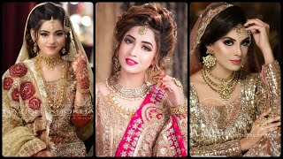 Very Attractive & Soo Beautiful Engegement Brides Outfits Designing Ideas 2020