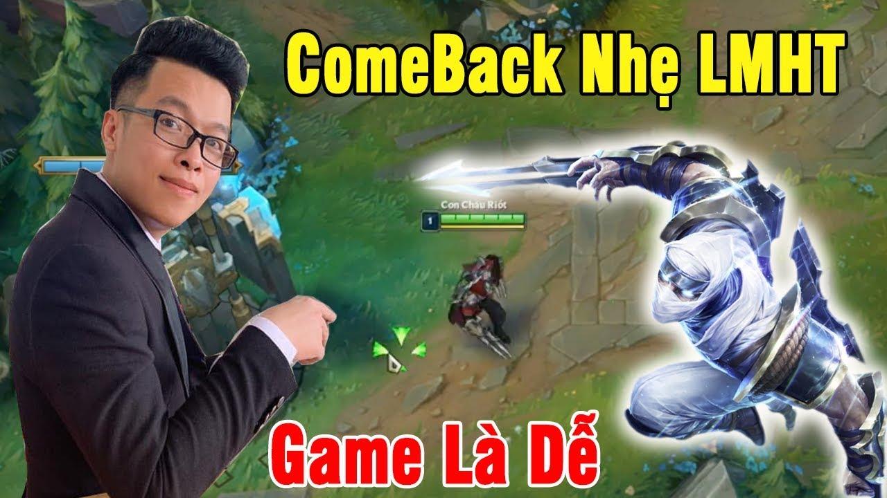 Comeback Nhẹ LMHT | Siêu Zed Mid đối đầu Ekko – Game Là Dễ | Trâu best Udyr