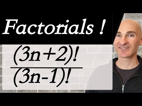 Factorial Expressions (Simplifying)