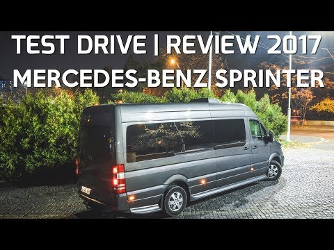 Mercedes Sprinter Luxury cu Stelian Muscalu | Test Drive | Review 2017