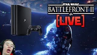 ⚡BATTLEFRONT 2 LIVE - Playstation 4 Stream! (Prepare for horrible gameplay)