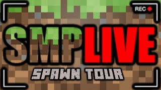 Touring the Spawn of SMP Live - ConnorEatsPants Stream Highlights