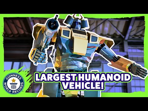 Largest Humanoid Vehicle - Guinness World Records