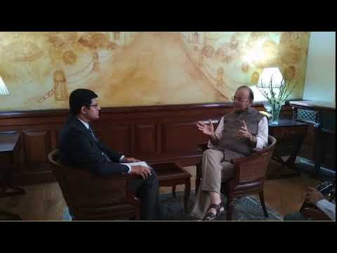 Countrywide  - Anchor S Rangabashiam with Shri Arun Jaitley