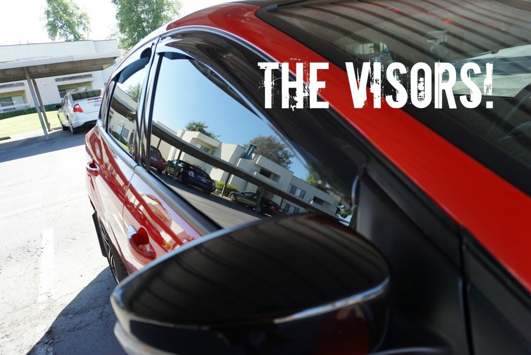 How To Install Oem Ford Window Visors For The 2015 Focus