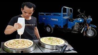 Mê Mẩn Bánh Kép Thái Lan Bán Dạo Trên Xe Ba Gác Ở Sài Gòn
