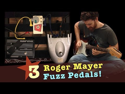 Roger Mayer Visage Fuzz Hendrix Rocket Series Pedal