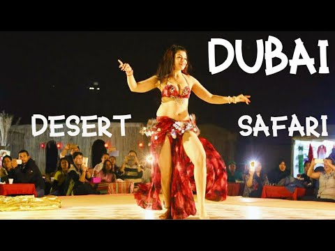 Desert Safari Dubai | Dune Bashing, BBQ Dinner & Live Shows (Belly Dance & lighting)
