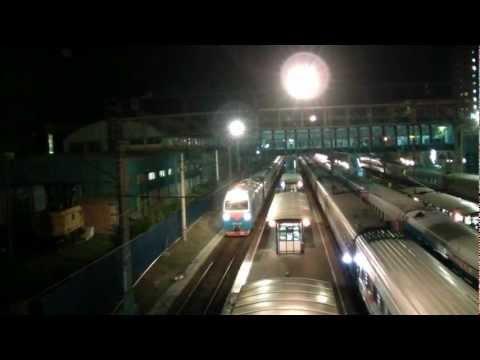 Прибытие ЭП1М-419 с поездом №126 Москва — Новороссийск