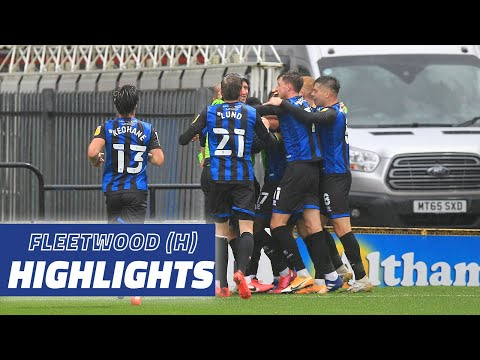 Rochdale Fleetwood Town Goals And Highlights