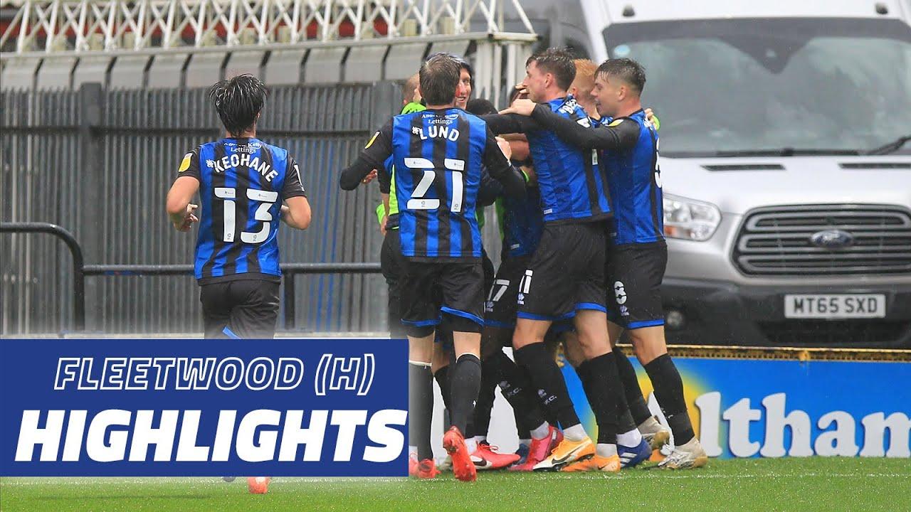 Highlights | Rochdale 2-1 Fleetwood Town
