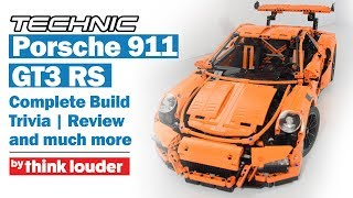 Lego Technic 42056 Porsche 911 GT3 RS - Build and Review