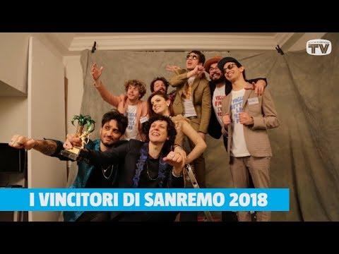 I vincitori di Sanremo 2018 Ermal Meta e Fabrizio Moro a Sorrisi
