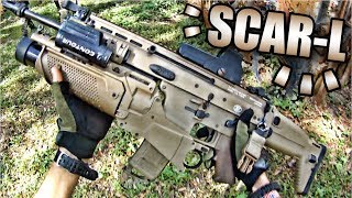 SCAR-L + GRENADE LAUNCHER!! | DV8 Airsoft | Part 26: Ep. 2 - VFC SCAR-L Gameplay