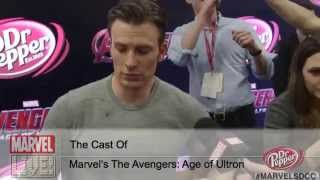 Quick Questions with Marvel's The Avengers: Age of Ultron Cast- Part I
