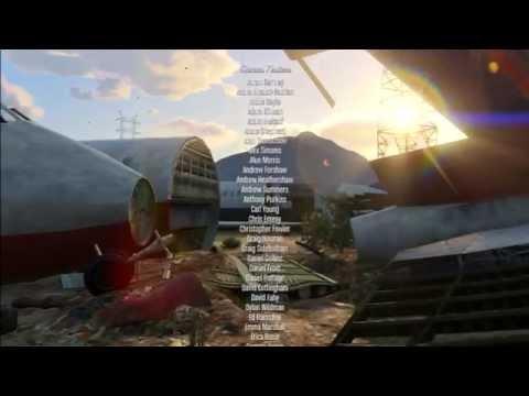 Grand Theft Auto V - Full ending Credits [HD 1080P]