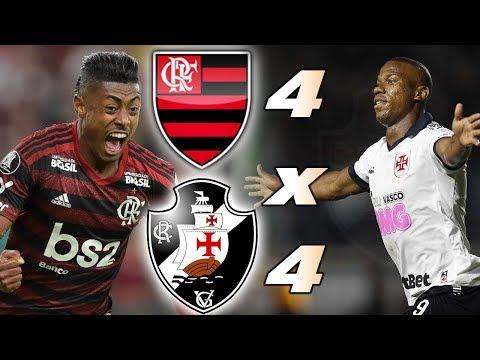 Flamengo e Vasco Ao Vivo l Campeonato Brasileiro l Rodada 34