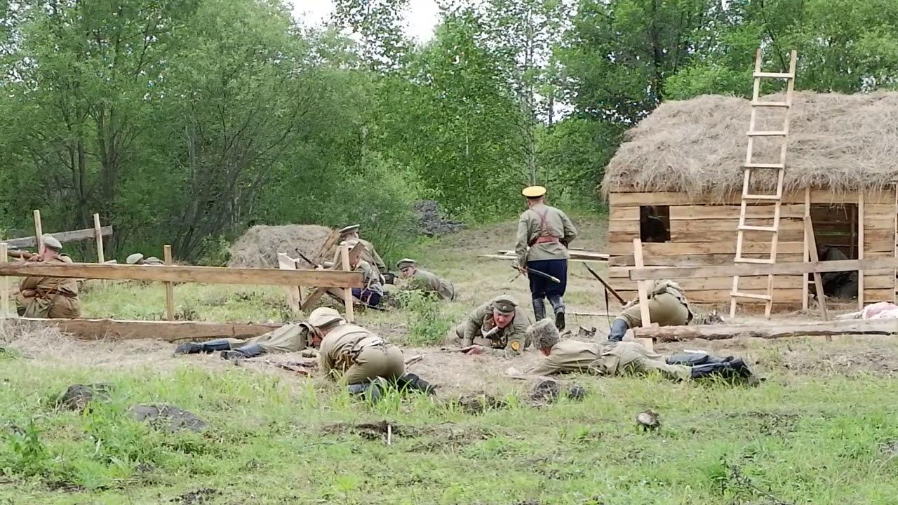 Сергей Фургал побывал на полях Гражданской войны
