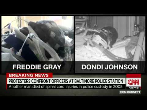 Baltimore Riots Police killed Another Man like freddy Gray, severed spine Dondi Johnson
