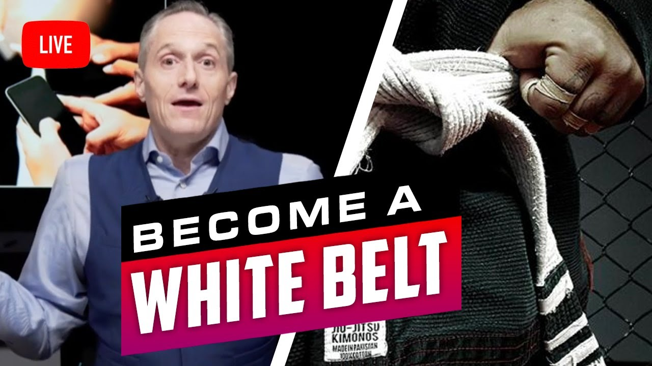 WHY EVERYONE SHOULD GET A WHITE BELT - Brian Rose's Real Deal