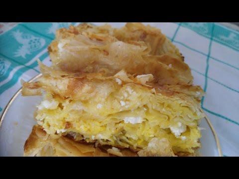 Bakina kuhinja - gibanica na bakin način (cheese pie)
