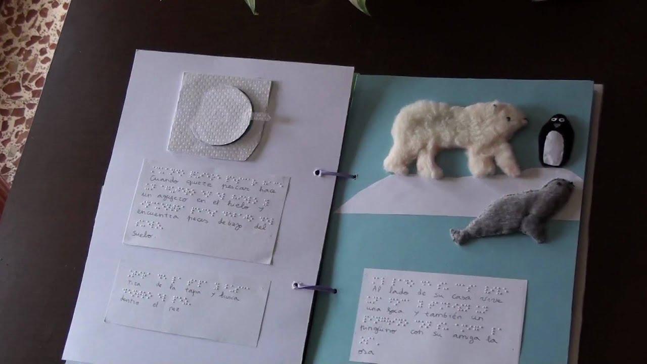 El mundo de carlota ( libro para niños sordociegos) - YouTube