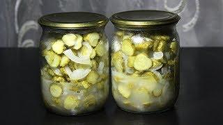 Салат из огурцов на зиму. Простой рецепт